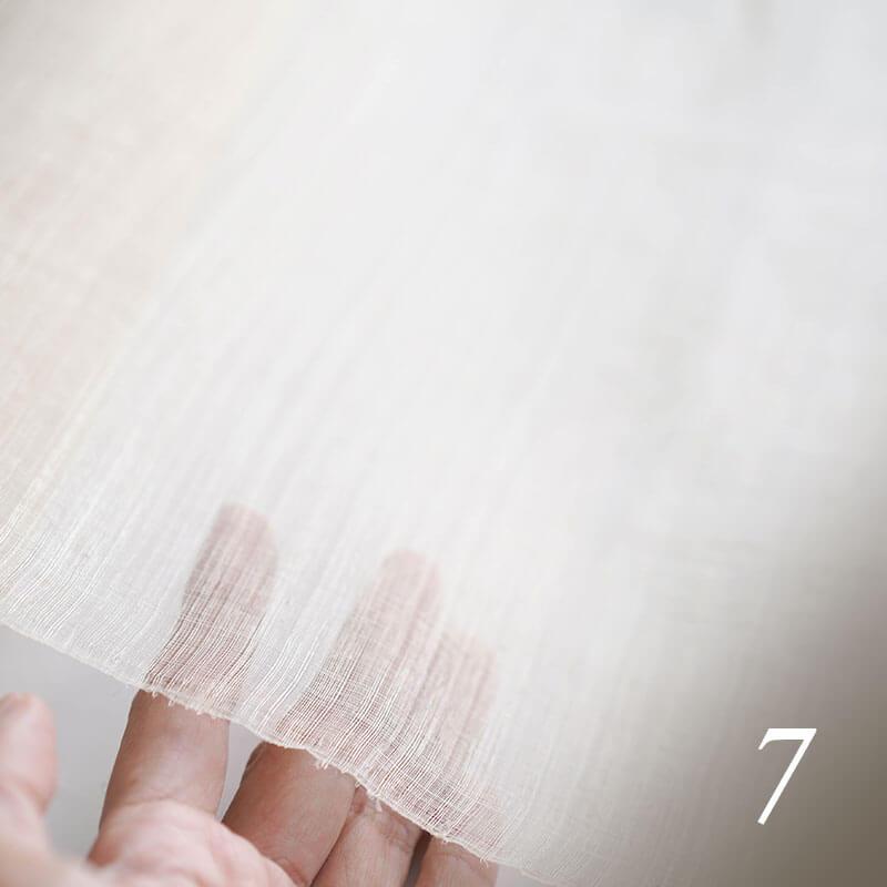 パイナップル葉繊維ができるまで パイナップルの糸から布へ