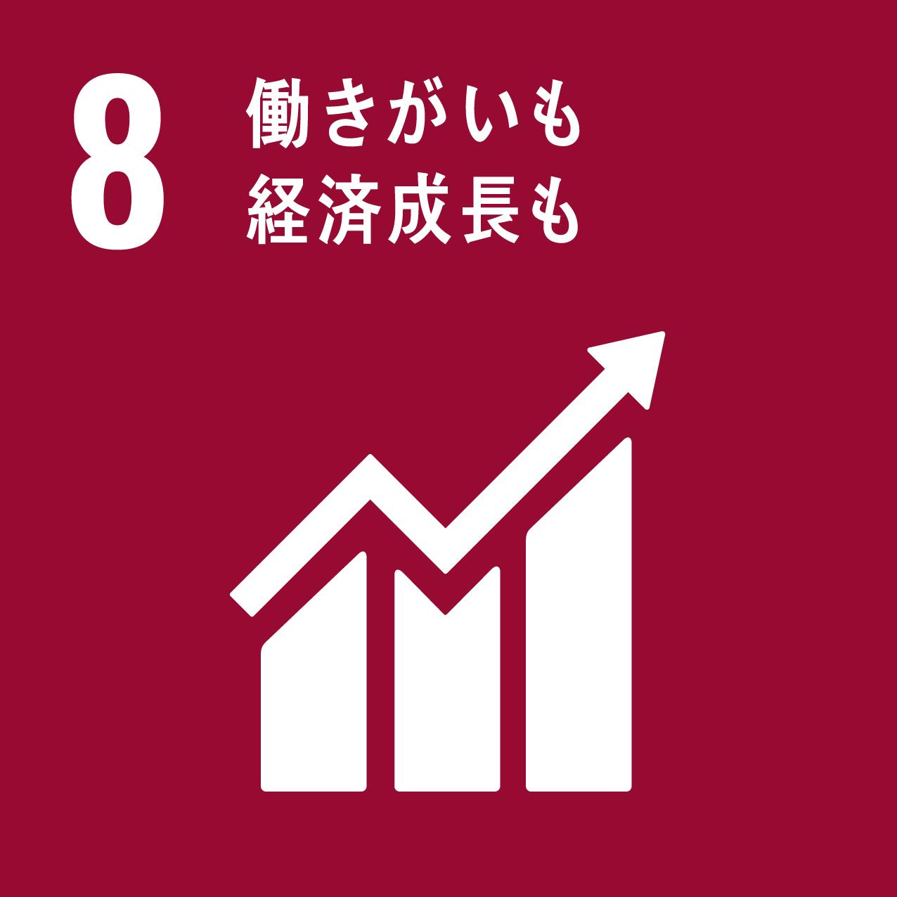 SDGs 8.働きがいも経済成長も