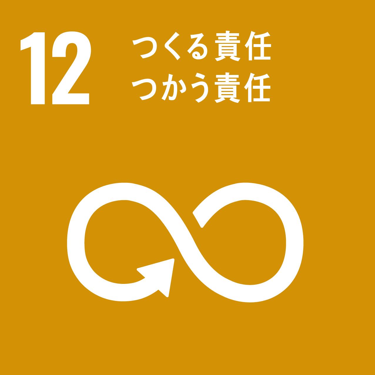 SDGs 12.つくる責任つかう責任