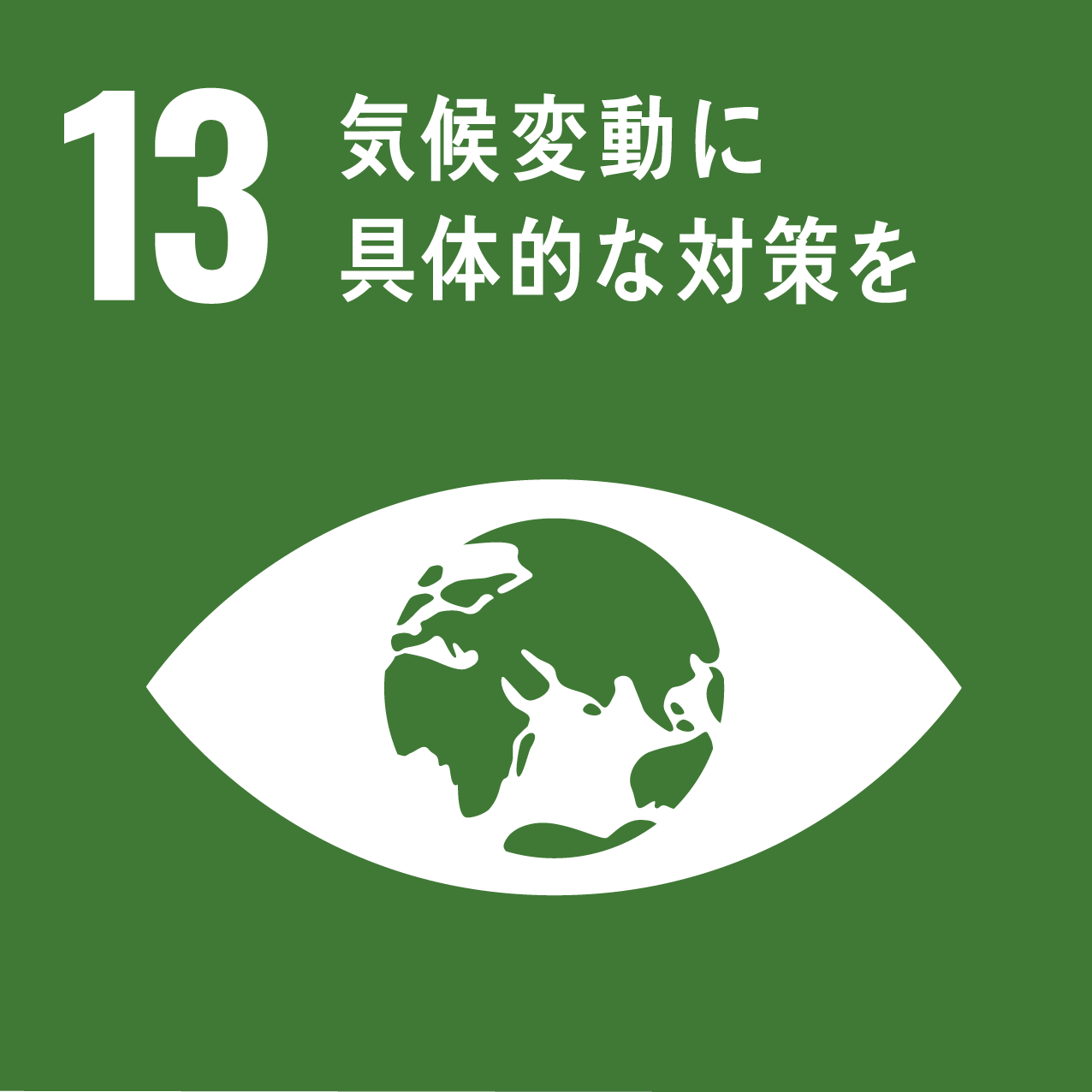 SDGs 13.気候変動に具体的な対策を